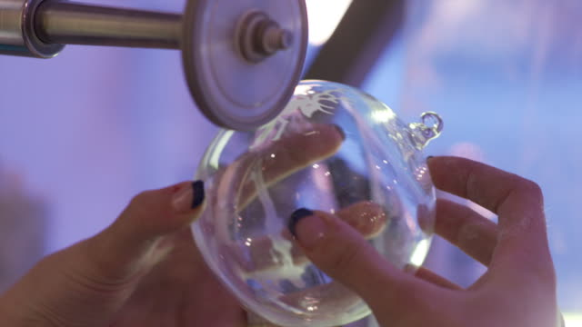 Grind the christmas bulb