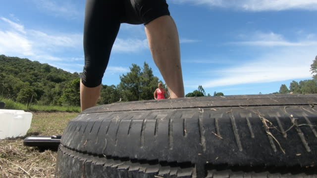 Gritty Women exercising outdoor bootcamp Australia Obstacle course