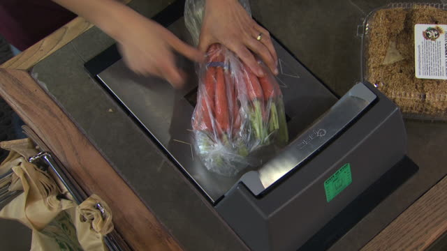 groceries being scanned - see other clips from this shoot 1172 stock videos & royalty-free footage
