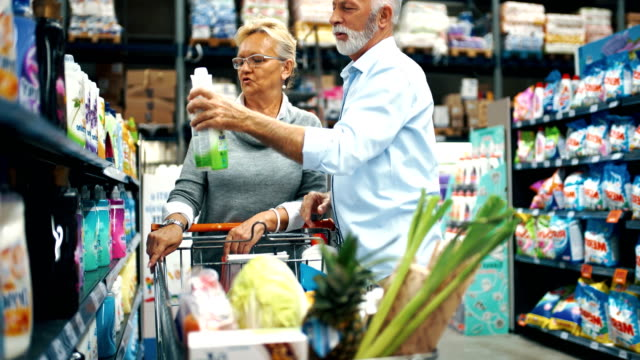 grocery shopping - cleaning agent stock videos & royalty-free footage