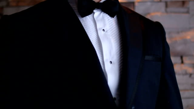 groom ready for his wedding - suit jacket stock videos & royalty-free footage