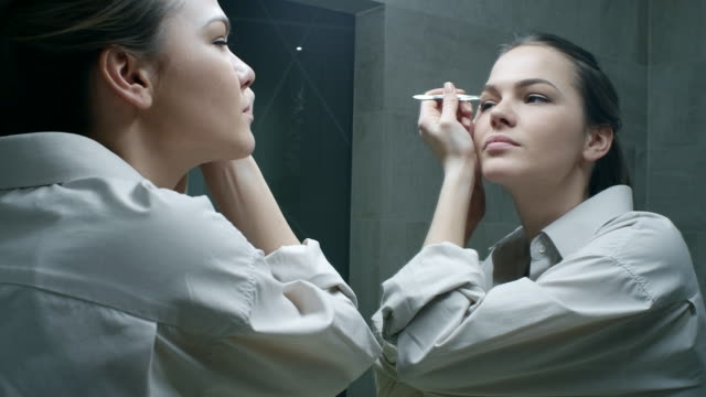 grooming - eyebrow stock videos & royalty-free footage