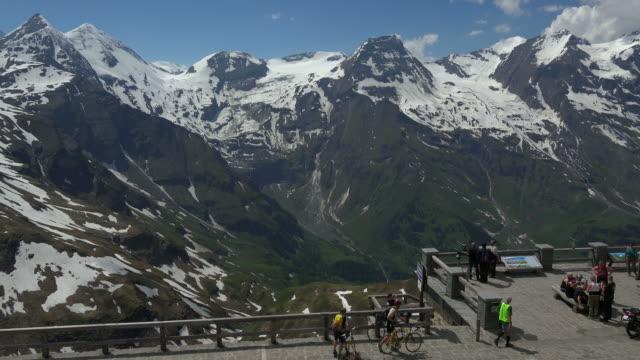 grossglockner high alpine road at fuscher toerl, hohe tauern, land salzburg, salzburg austria - austria stock videos and b-roll footage