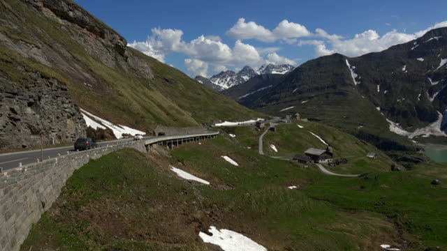 grossglockner high alpine road, hohe tauern, carinthia alps, carinthia, austria - carinthia stock videos & royalty-free footage