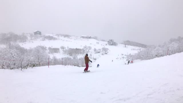 ground of skiing in Niseko Ski Resort, Hokkaido