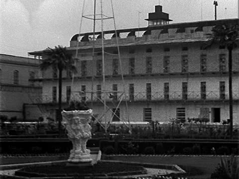 grounds of san quentin state prison prisoners standing in yard san quentin state prison on january 01 1951 in san quentin california - 1951 stock videos & royalty-free footage