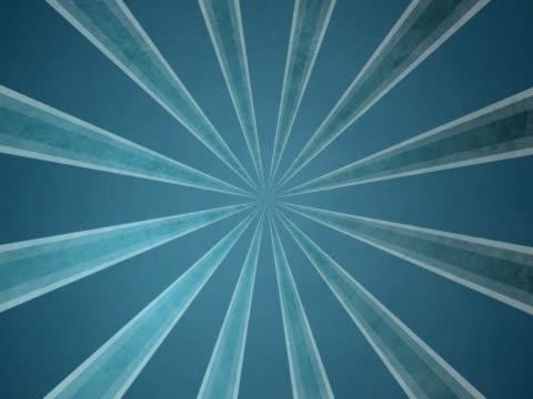 vidéos et rushes de ntsc grounge fond bleu avec des rayons de soleil sans coutures - rock moderne