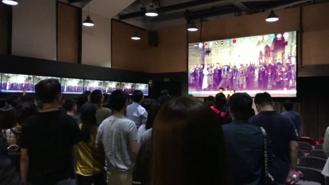 CHN: Chinese fans gather to watch Game of Thrones finale