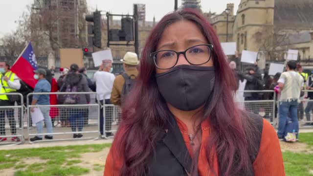 group of activists and democracy advocates on wednesday, march 31, protested the military coup in myanmar in the british capital london. the... - south east asia stock videos & royalty-free footage