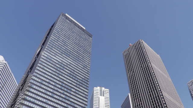 group of buildings - ローアングル点の映像素材/bロール