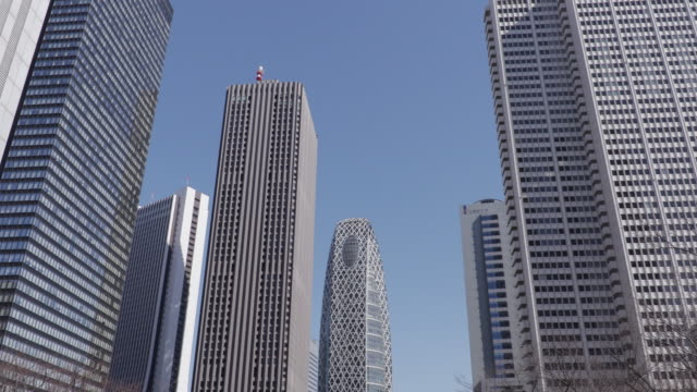 group of buildings - low angle view stock videos & royalty-free footage