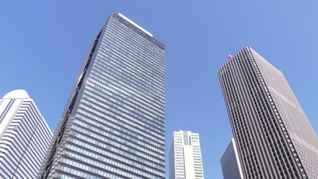 group of buildings - 低角度觀看 個影片檔及 b 捲影像