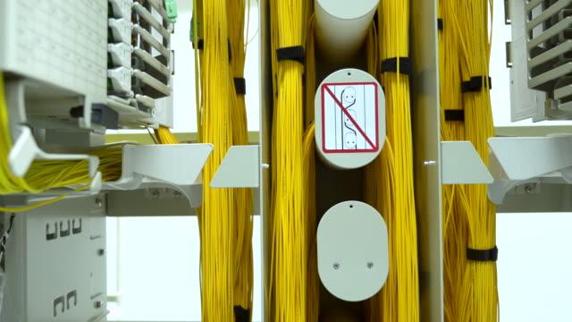 vídeos de stock, filmes e b-roll de ds:group de fibra óptica - fibra