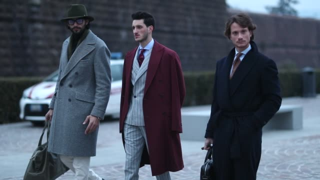 ITA: Street Style Video: January 8 - 95. Pitti Uomo