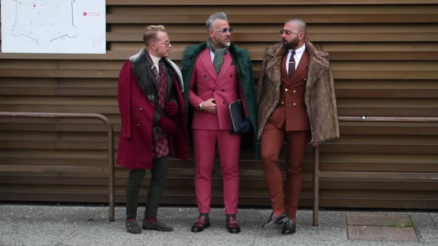 ITA: Street Style Video: January 9 - 95. Pitti Uomo
