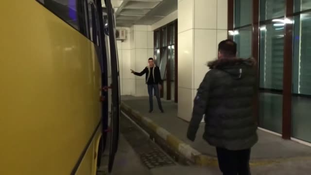 group of irregular migrants allegedly pushed back forcibly to turkey after being beaten by greek soldiers are being nursed back to health in edirne,... - human arm stock videos & royalty-free footage