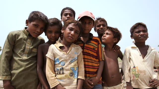 MS group of kids that work in handmade brick factory / Old city of Lahore Punjab Pakistan
