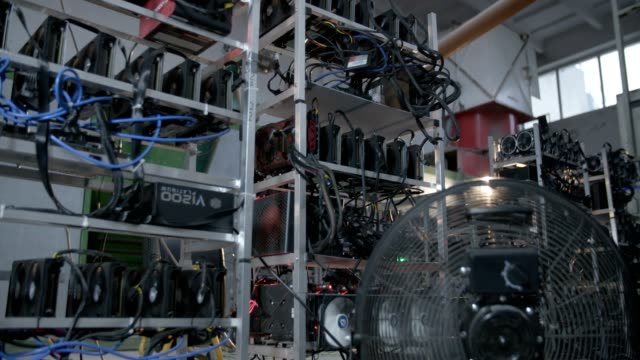 Group of mining machines for Ethereum