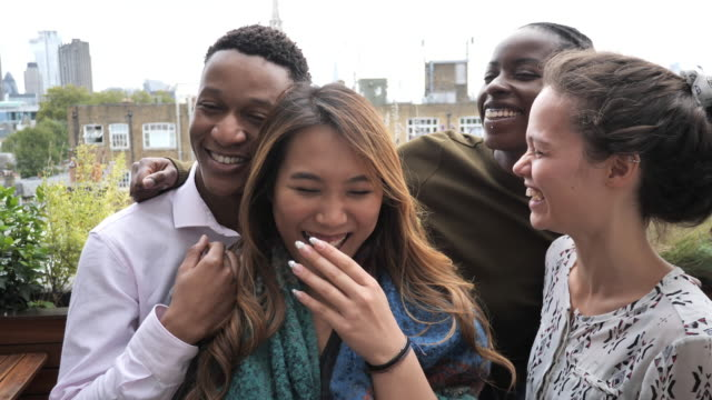 group of multi ethnic millennial people - cultures stock videos & royalty-free footage