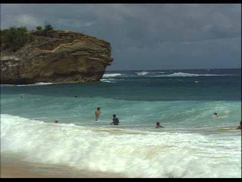 group of people body surfing - see other clips from this shoot 1158 stock videos & royalty-free footage