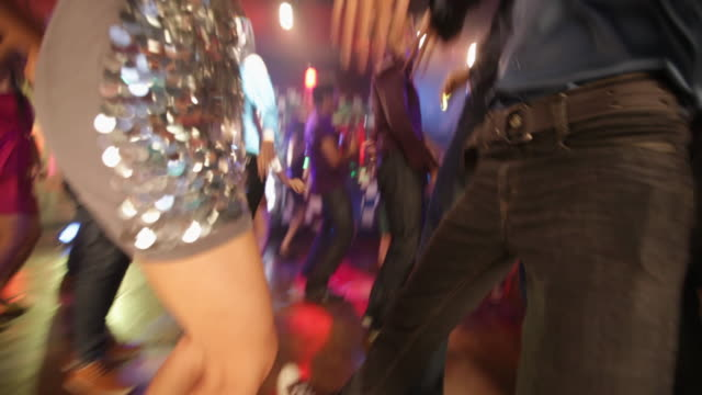 group of people dancing in a nightclub - upper class stock videos and b-roll footage