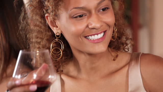 group of people drinking at a wine bar - wine bar stock videos & royalty-free footage