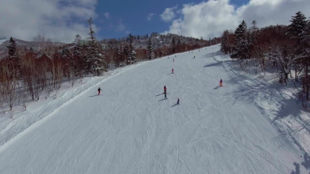 group of people skiing - 4k resolution stock videos & royalty-free footage