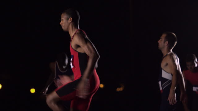 a group of runners warm up before a race. - warming up stock videos & royalty-free footage