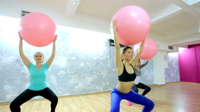 group pilates training! - pilates stock videos and b-roll footage