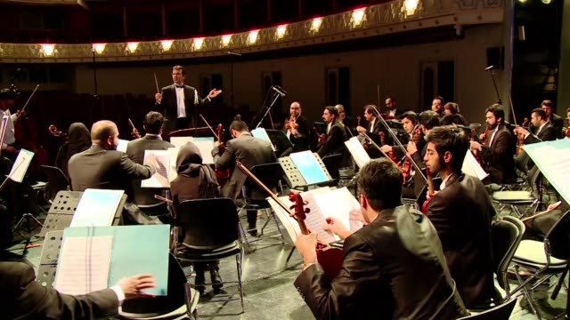 growing cultural ties between iran and europe were on display on wednesday night as a french-iranian conductor became one of the first westerners to... - french revolution stock videos & royalty-free footage