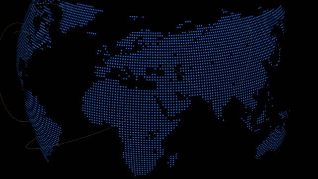 vídeos y material grabado en eventos de stock de creciente red global - europa continente
