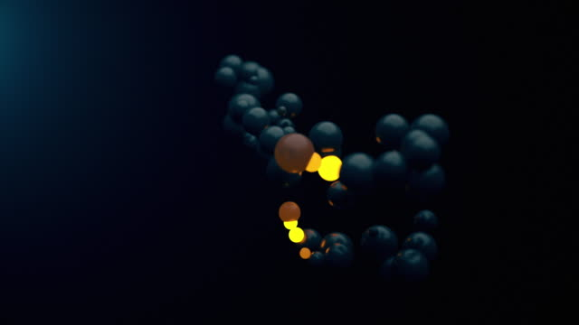 growing molecules - replication bubble stock videos and b-roll footage