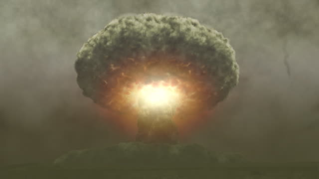 growing nuke - nuclear fallout stock videos and b-roll footage