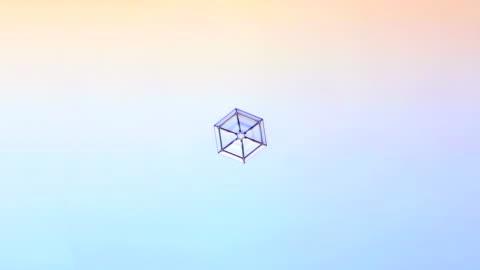 growing snowflake, timelapse - snöflinga bildbanksvideor och videomaterial från bakom kulisserna