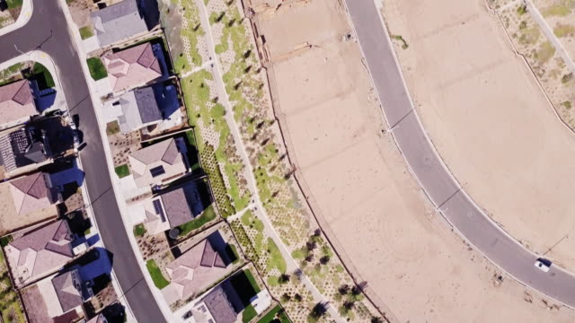 growing suburbia - aerial shot - santa clarita stock videos & royalty-free footage