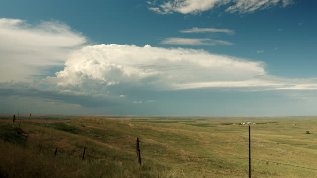 growing thunderclouds, timelapse - south dakota stock videos & royalty-free footage