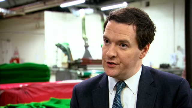 gdp growth increases to 08 per cent george osborne interview sot britain is poorer because of the crash that happened five years ago this government... - borrowing stock videos & royalty-free footage