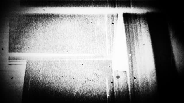 grunge and scratches on old film leader - black and white stock videos & royalty-free footage