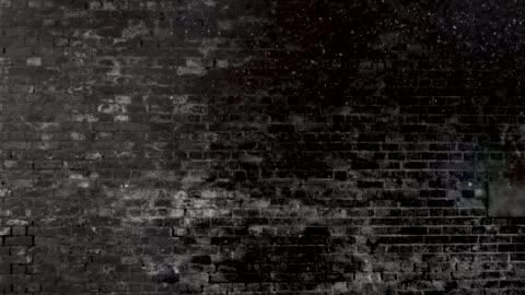 vídeos y material grabado en eventos de stock de grunge negro y blanco ladrillo pared brackground. 4k stock video - ladrillo