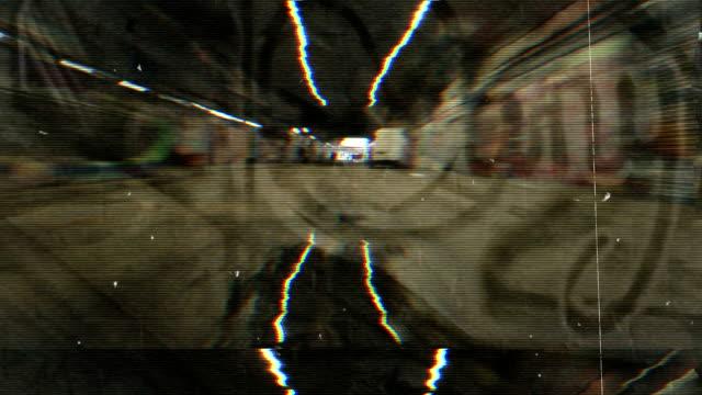 Grunge Graffiti Tunnel Texture. HD