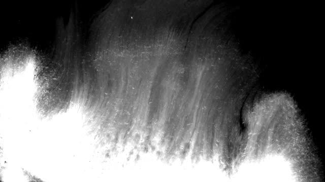 grunge ink splatters - matte stock videos & royalty-free footage