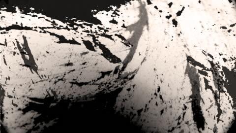 vídeos y material grabado en eventos de stock de pintura de textura grunge - técnica de textura grunge