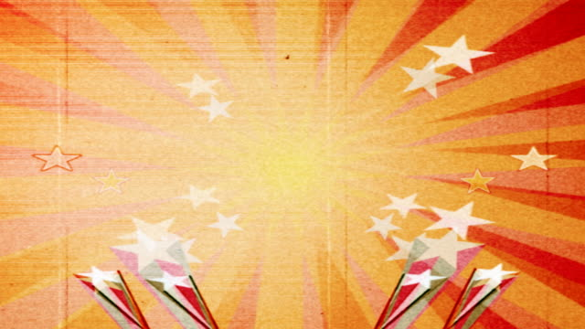 grunge retro-animation - retrostil stock-videos und b-roll-filmmaterial