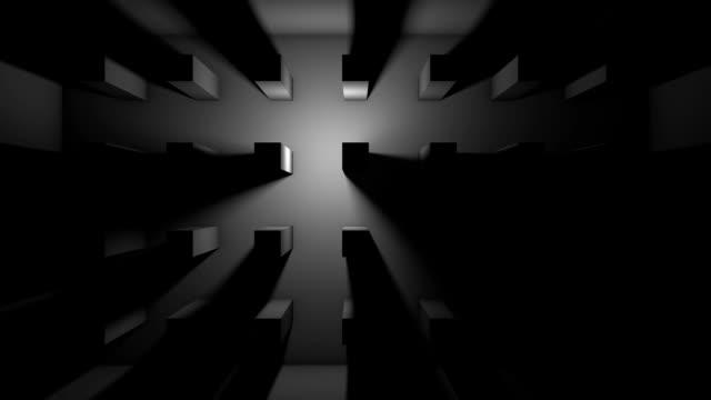 グランジルーム - コンクリート点の映像素材/bロール
