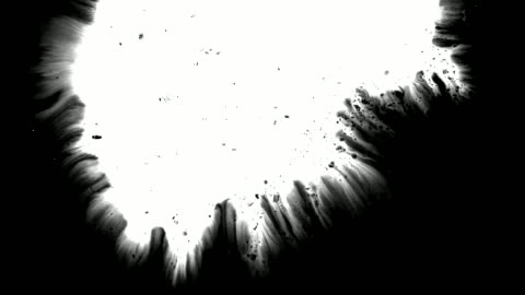 grunge set ink flows on a dirty surface - white stock videos & royalty-free footage