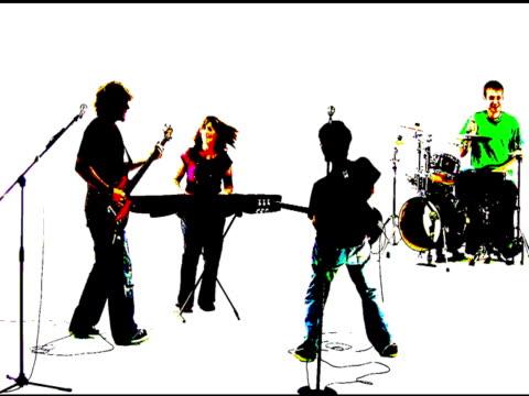 Grunge-punk-rock-band