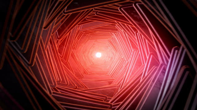 Grunge tunnel vision