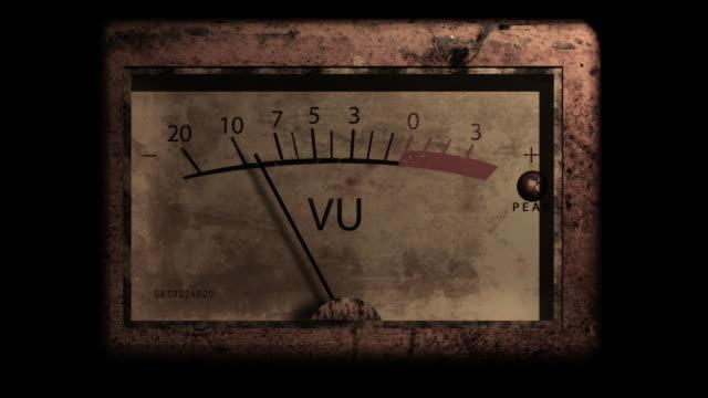 Grunge VU Meter with alpha