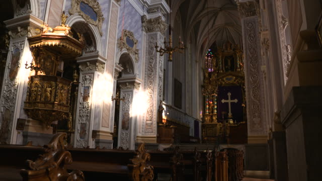 göttweig abbey - krems/austria (4k) - circa 11th century stock videos & royalty-free footage
