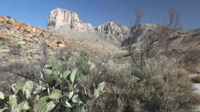 guadalupe mountains national park - el capitan yosemite national park stock videos and b-roll footage
